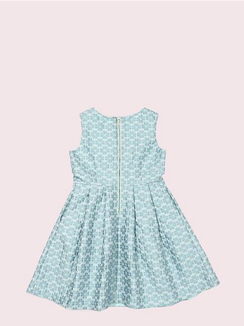 ガールズ スペード フラワー ジャガード ドレス