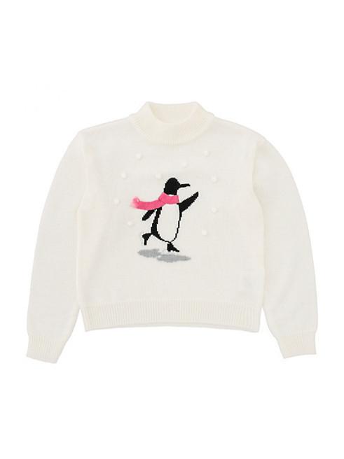 ガールズ ペンギン セーター