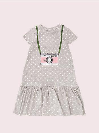 ガールズ カメラ トロンプルイユ ドレス