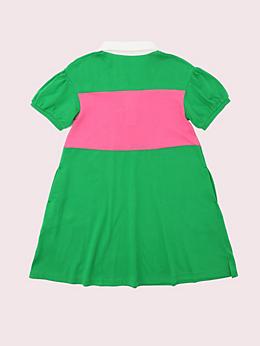 ガールズ カジュアル ストライプ ドレス