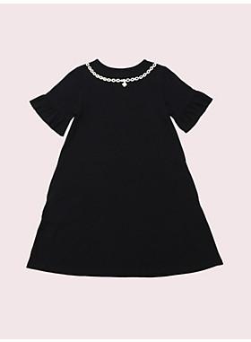 ガール デイジー ネックレス トロンプルイユ ドレス