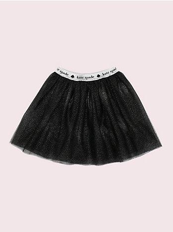 ガール グリッター チュール スカート