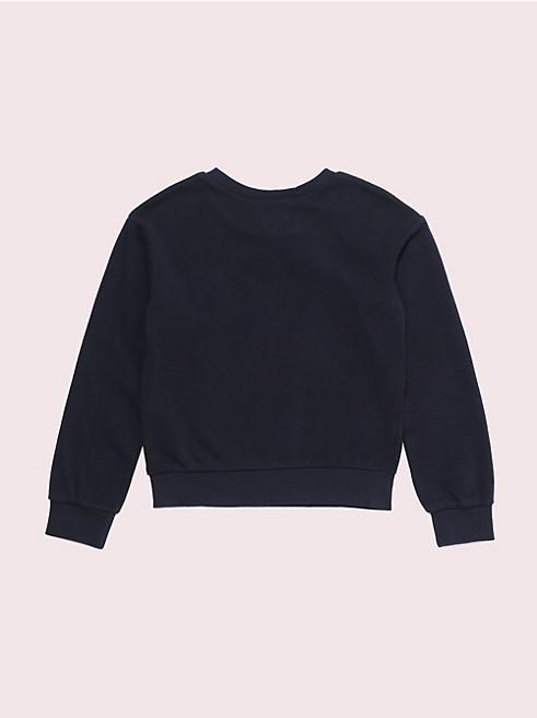 ガールズ スター ロゴ セーター