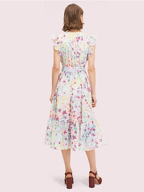 ペインテッド ペタル バーンアウト ドレス