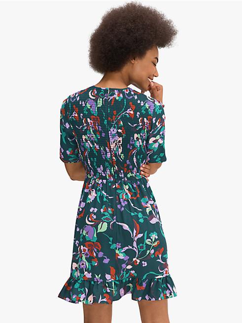 フルール ヌーボー スモックド ドレス