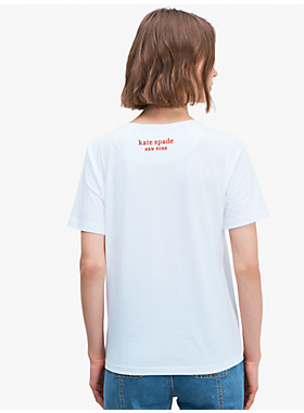 ディズニー×ケイト・スペード ニューヨーク ミニー マウス Tシャツ