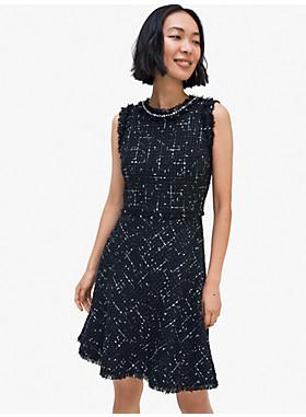 エンベリッシュ ツイード ドレス