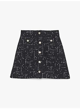 エンベリッシュ ツイード スカート
