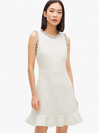メインライン フローラ ツイード ドレス