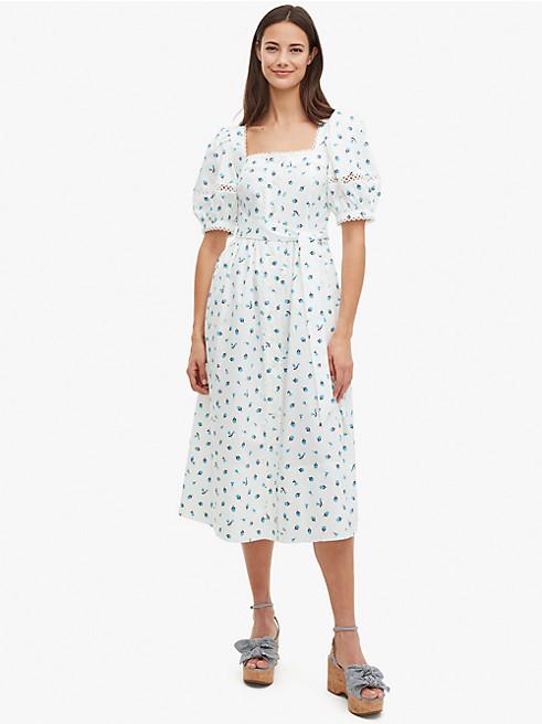 メインライン ガーデン ディッツィー ポプリン ドレス