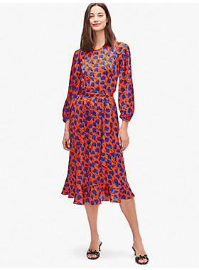 メインライン シースケープ フローラ スモック ドレス