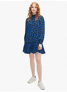 メインライン シースケープ フローラ シフト ドレス
