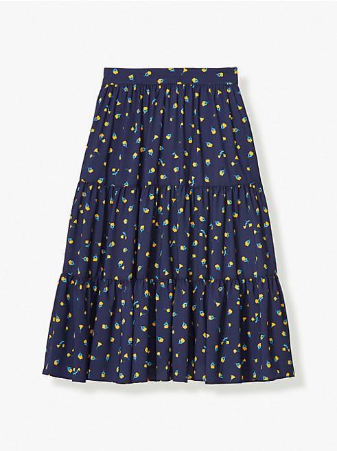 メインライン ガーデン ディッツィー ティアード スカート
