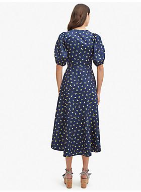メインライン ガーデン ディッツィー ラップ ドレス