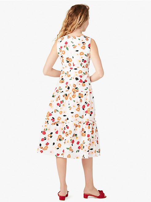メインライン ボタニカル ガーデン ティアード ドレス