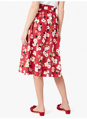 メインライン ボタニカル ガーデン ミディ スカート