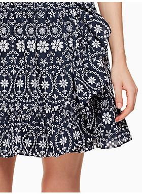 ショア シング アイレット ラップ スカート