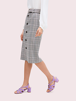 メンズウェア ペンシル スカート