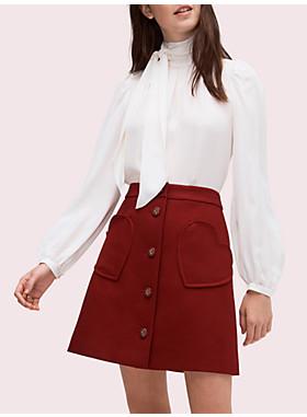 スペード ポケット スカート