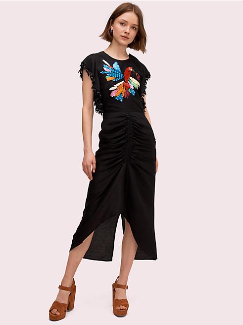 エンベリッシュ パロット ドレス