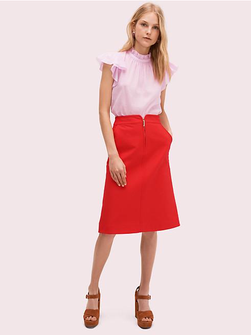 ツイル スカート