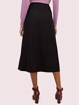 サイド スリット ツイル スカート