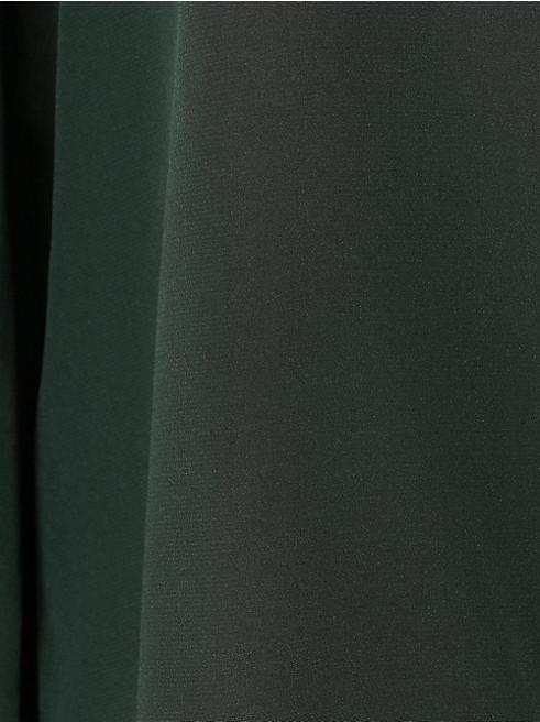 シルク ポイント カラー ブラウス