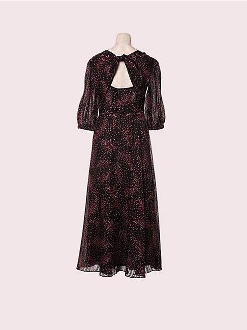 メドー タイ バック ドレス