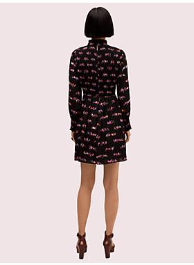 ラブ バード スモック ドレス