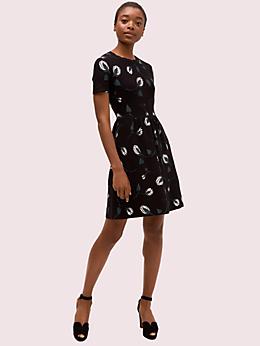 デコ ブルーム セーター ドレス