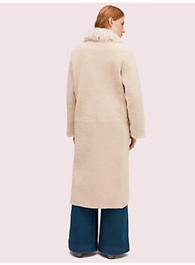 ファー カラー シャーリング コート