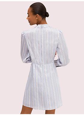 パール ドロップ シルク ドレス