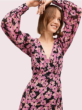 ウォールフラワー シフォン ドレス