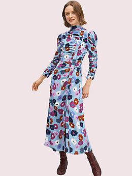 ウィンター ガーデン ハイ ネック ドレス