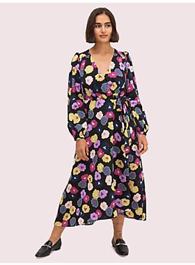 ウィンター ガーデン ラップ ドレス