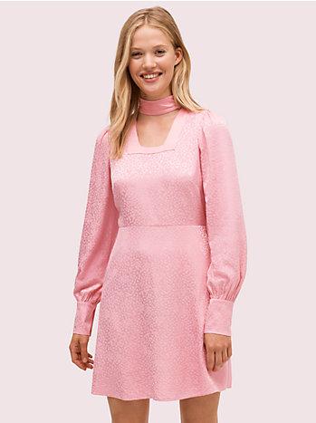 フルイド ジャカード ドレス