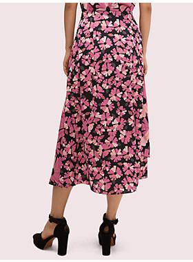 ウォールフラワー サテン スカート