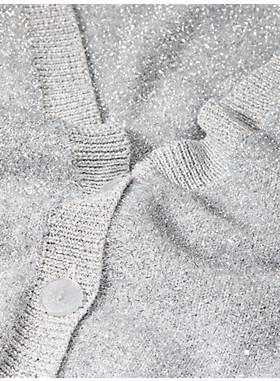 スパークル カーディガン セーター