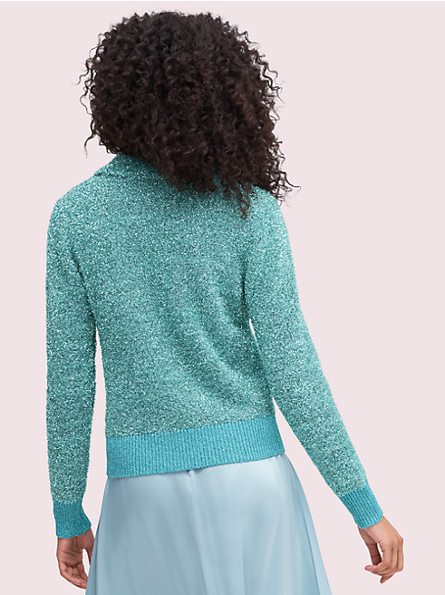 スパークル ポロ セーター