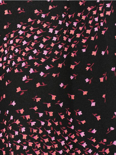 メドー ラッフル ラップ ドレス