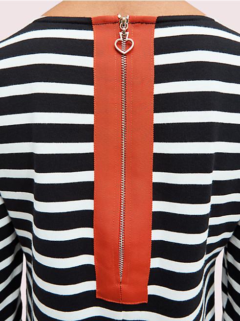 セーリング ストライプ スカラップ ドレス