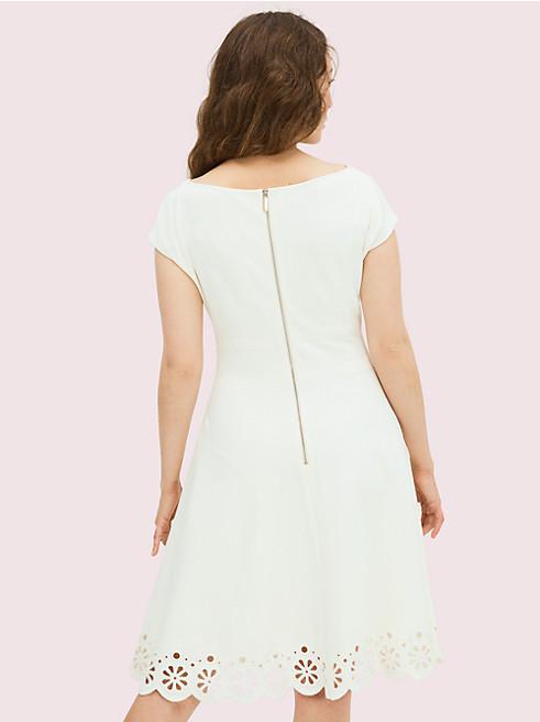 アイレット ポンテ フィオレラ ドレス