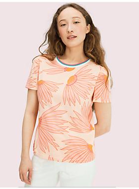 フォーリング フラワー Tシャツ