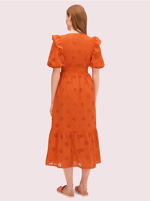 スペード クローバー アイレット ドレス