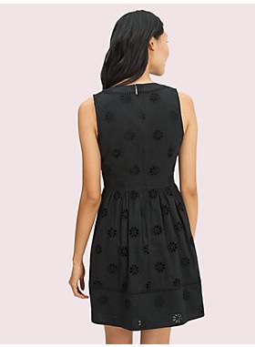 スペード クローバー アイレット ミニ ドレス
