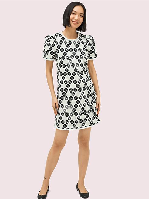 スペード ツイード ドレス