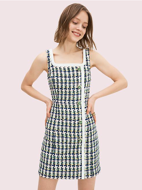 ポップ ツイード ドレス