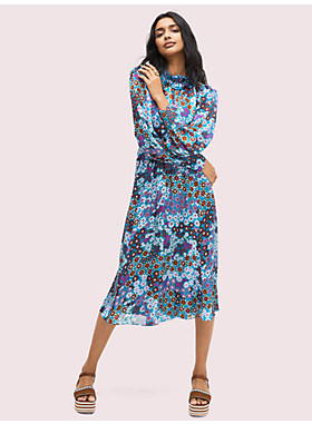 パシフィック ペタル シフォン ドレス