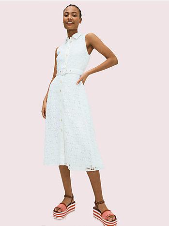リーフレースドレス