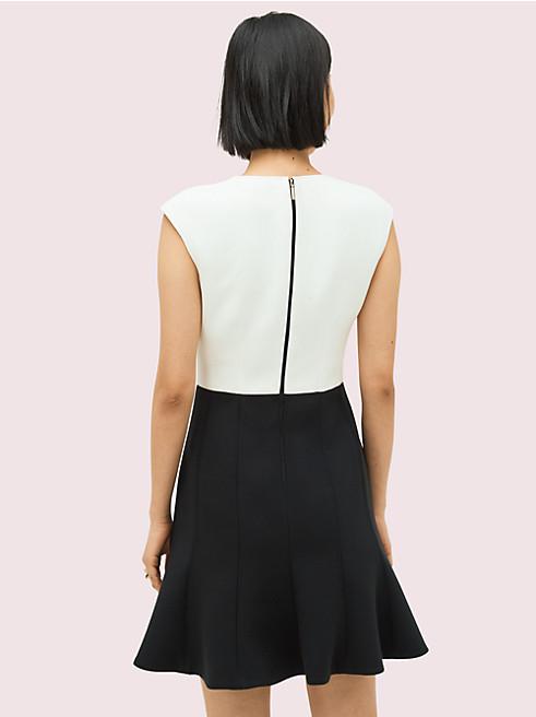カラーブロック ドレス